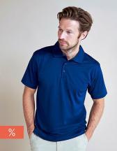 Coolplus® Textured Stripe Polo Shirt